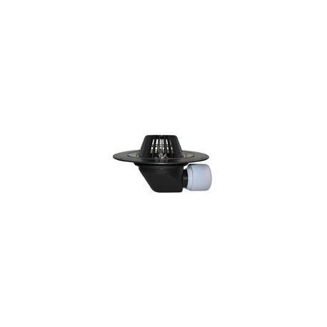 Receptor pt. acoperiş DN75/110 cu ieşire orizontală,cu element clemă