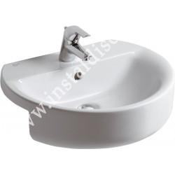 Lavoar pentru montaj semi incastrat CONNECT SPHERE 55 CM