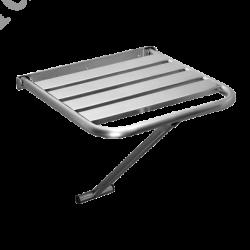 Scaun de duș rabatabil din oțel inox
